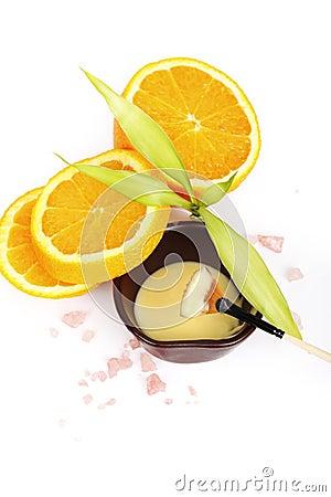 Orange spa products