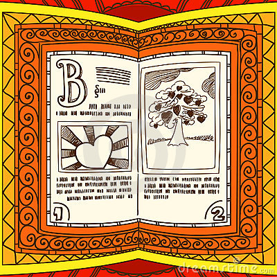 Orange spell book