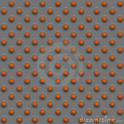 Orange sphere design