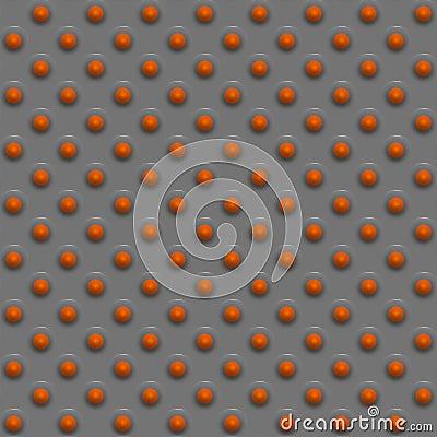 Orange sphere design