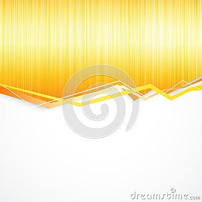 Orange splashes background.