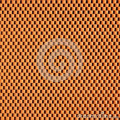 orange sponge texture