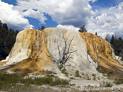 Orange Spring Mound Yellowstone