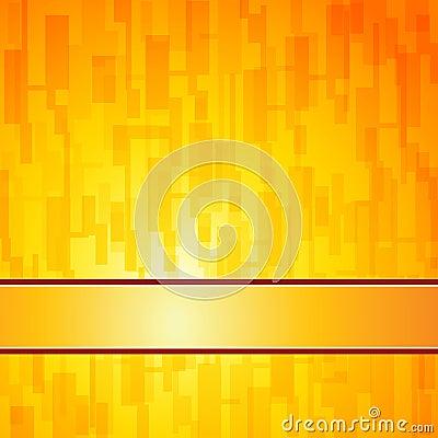 Orange squares retro background