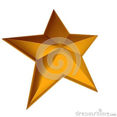 Orange star