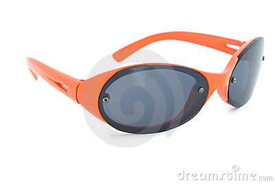 Orange sunglasses.