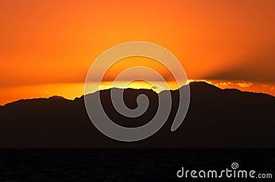 Orange sunrise 2