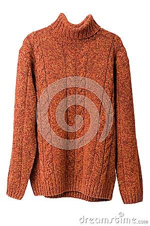 Free Orange Sweater Stock Images - 12491924