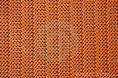 Orange tablecloth texture
