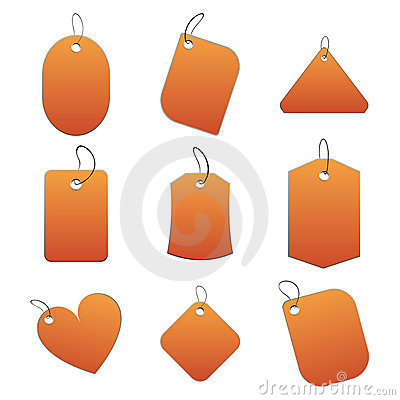 Orange tags