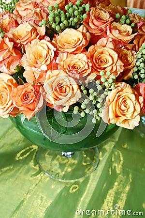 Orange thai roses 007