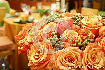 Orange thai roses 015