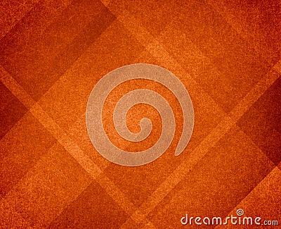 Orange Thanksgiving or autumn background abstract design Stock Photo