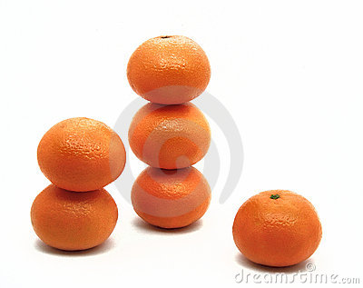 Orange turrets