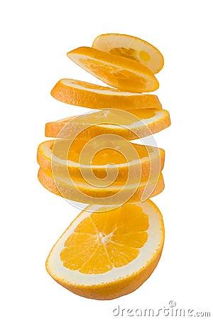 Free Orange Twist Stock Photo - 7845930
