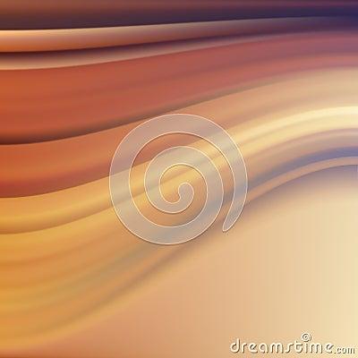 Orange Violet Wave. Abstract Background.