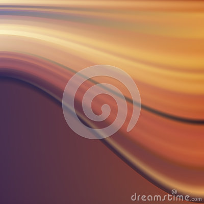Orange Violet Wave. Abstract Background.