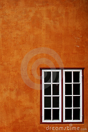 Free Orange Wall And Window Stock Images - 10975634