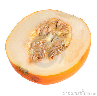 Orange watermelon isolated
