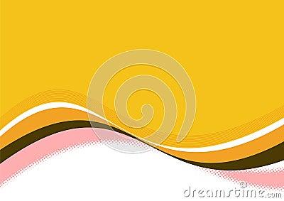 orange wavy lines
