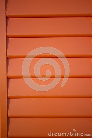 Orange weatherboard background lines pattern
