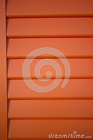 Orange weatherboard background lines pattern