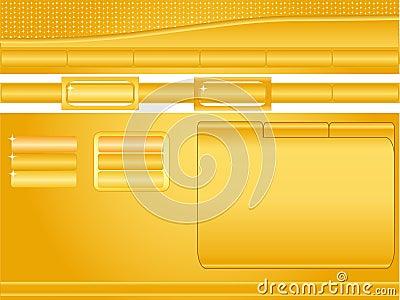 Orange Website template