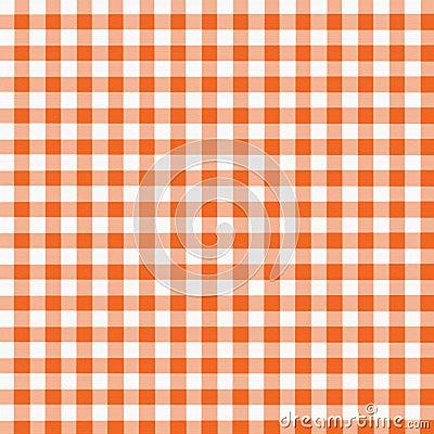 Orange White Gingham Royalty Free Stock Photos Image 967398