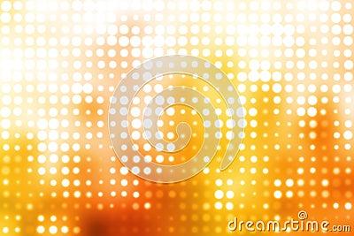 Orange and White Glowing Futuristic  Background