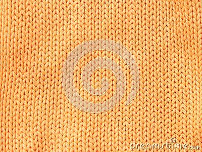 Orange woolen cloth