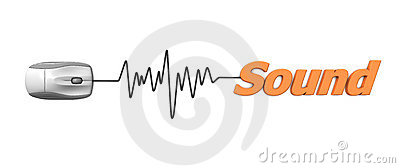 Orange Word Sound with Grey Mouse
