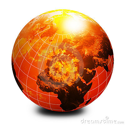 Free Orange World Globe Royalty Free Stock Image - 5582186