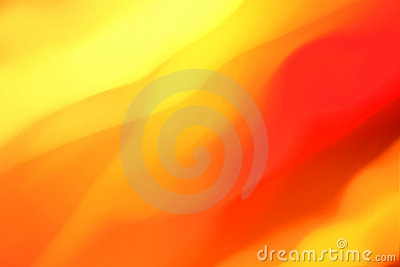 Orange and yellow abstract