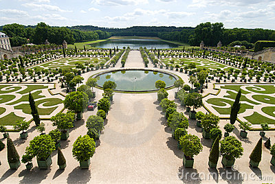 The orangerie of versailles