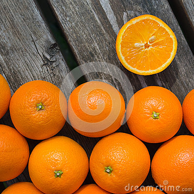 Free Oranges Royalty Free Stock Image - 24667396