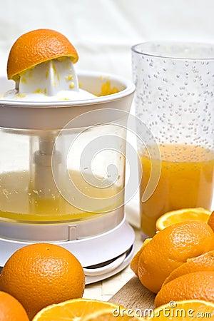 Free Oranges And Mixer Royalty Free Stock Photos - 4388618