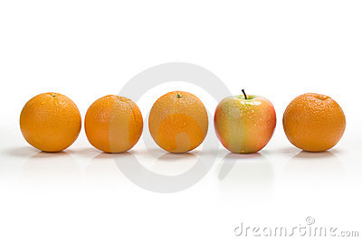 Oranges And Apple