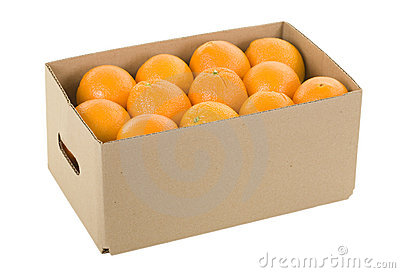 Image result for oranges in box clipart