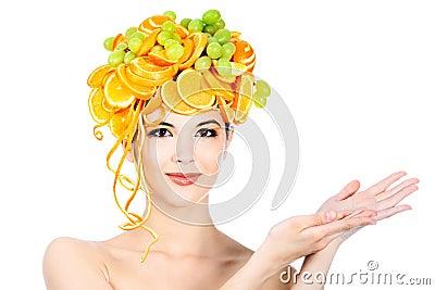 Oranges head