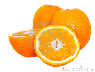 Oranges - isolated