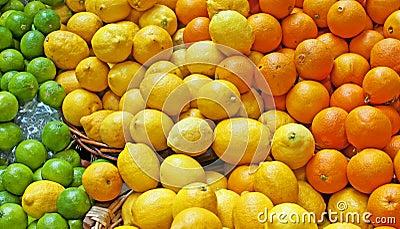 Oranges, Lemons & Limes
