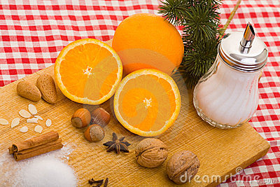 Oranges and other baking