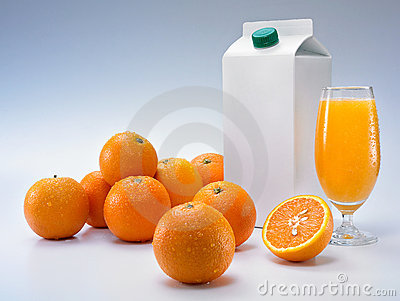Oranges and packaging