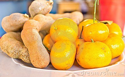 Oranges and tamarinds