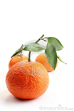 Oranges and white