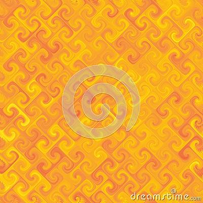 Orangey Yellow