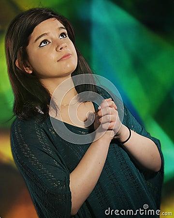 Oração adolescente