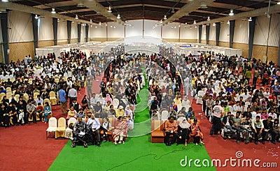 Orators View of Hall Editorial Stock Photo
