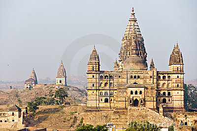 Orcha s Palace, India.