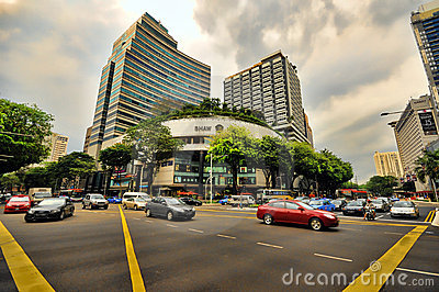 Orchard Road, Singapore Editorial Image
